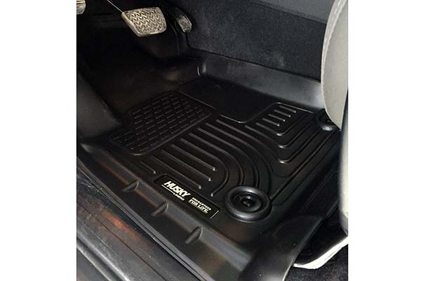 Husky WeatherBeater Floor Liners Installed in 2017 Toyota Tundra - Customer Submitted Image