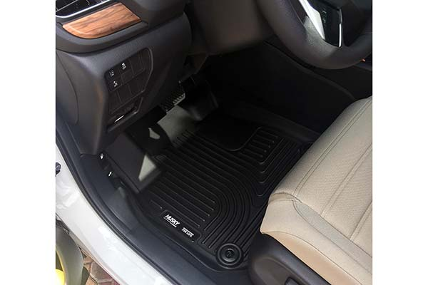 Husky WeatherBeater Floor Liners Installed in 2017 Honda CR-V - Customer Submitted Image