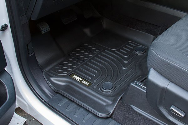 2016 Ford F150 front black husky floor mat
