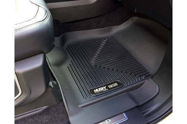 Husky X-act Contour Floor Liners Installed in 2016 Ford F-150 - Customer Submitted Image