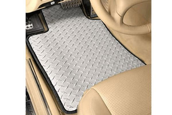 intro tecc automotive diamond plate mats all weather floor mats 4098 1