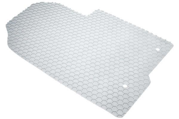 intro tech automotive clear hexomat floor mats front