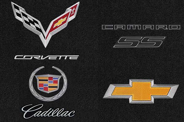 Lloyd Mats Chevy Cadillac Corvette Camaro Logos