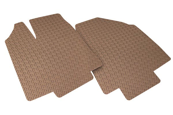 lloyd northridge floor mats front angled tan