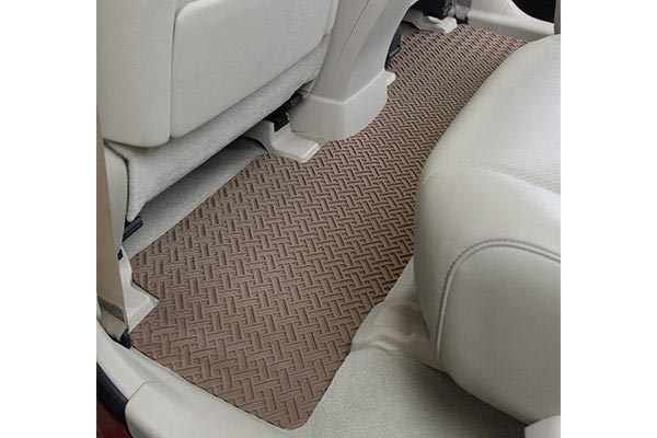 lloyd northridge floor mats second row tan
