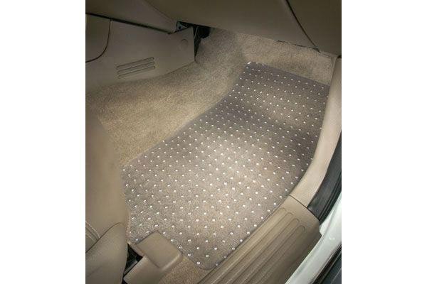 Coverking Custom Fit Front Floor Mats for Select Eagle Summit Models Black Nylon Carpet