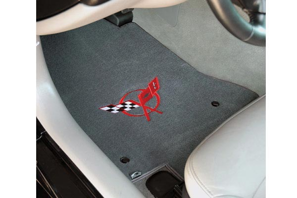 lloyd velourtex floor mats corvette logo