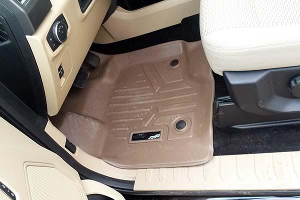 maxliner installed on driver side in tan