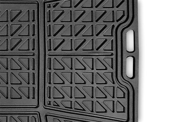 michelin rubber cargo mat detail grip