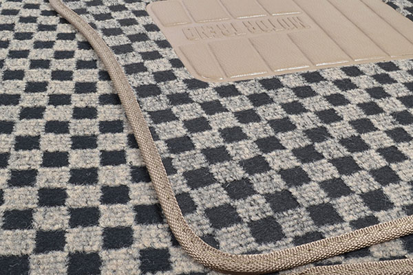 motor trend checkered carpet floor mats carpet texture