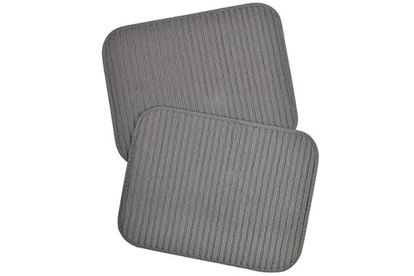 motor trend ribbed carpet floor mats rear mats