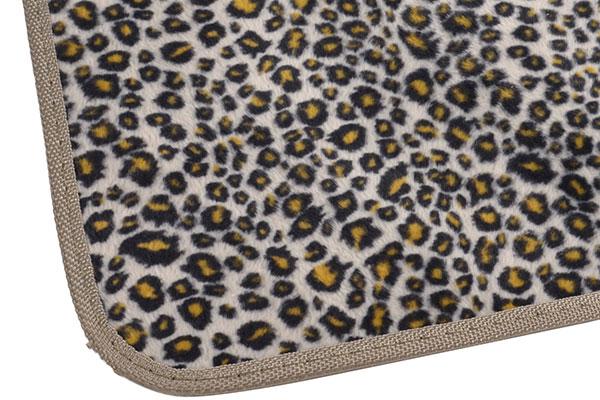 proz animal print floor mats detail