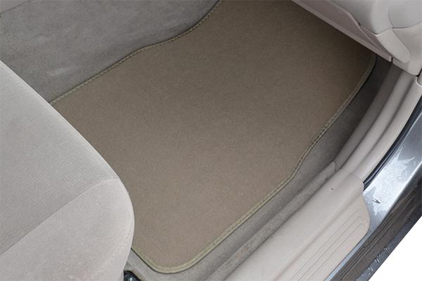 proz bigrig carpet floor mats beige installed