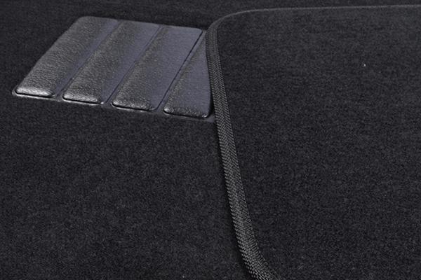 proz bigrig carpet floor mats black detail