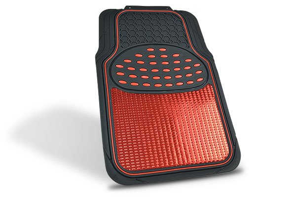 proz metallic floor mats single