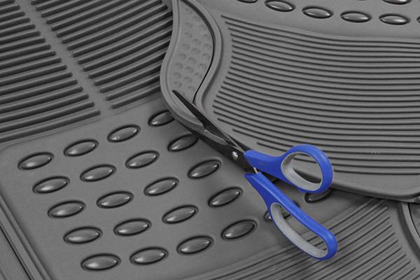 proz premium rubber floor mats detail