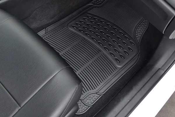 proz premium rubber floor mats installed