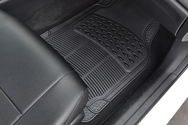 proz premium rubber floor mats installed