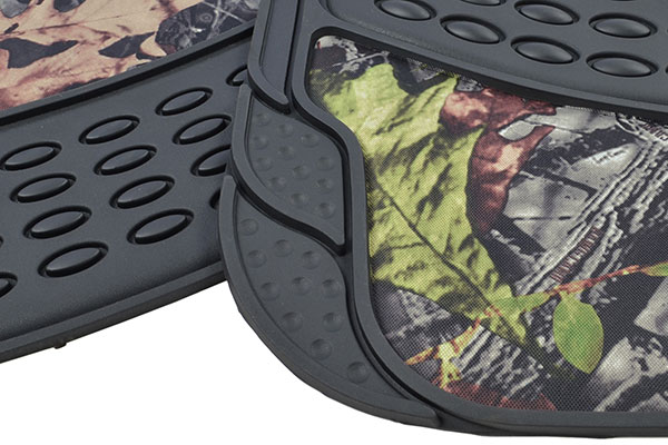 proz timber camo heavy duty floor mats detail