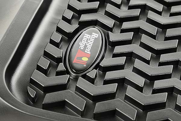 rugged ridge all terrain floor mats detail3