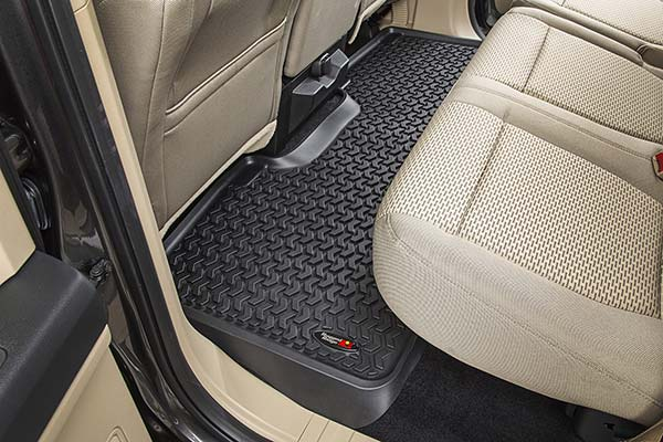 rugged ridge all terrain floor mats installed3