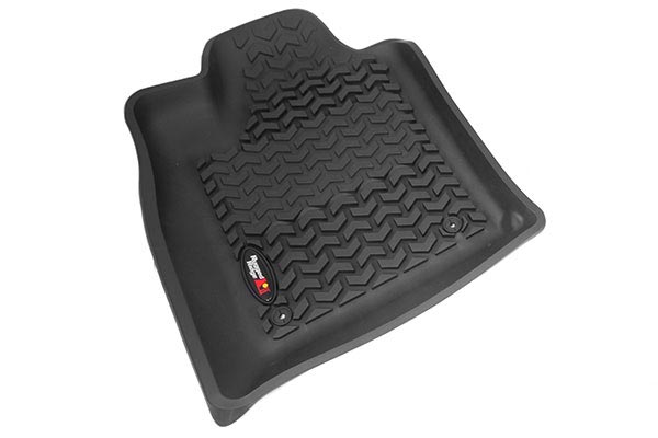 rugged ridge all terrain floor mats 4935 2