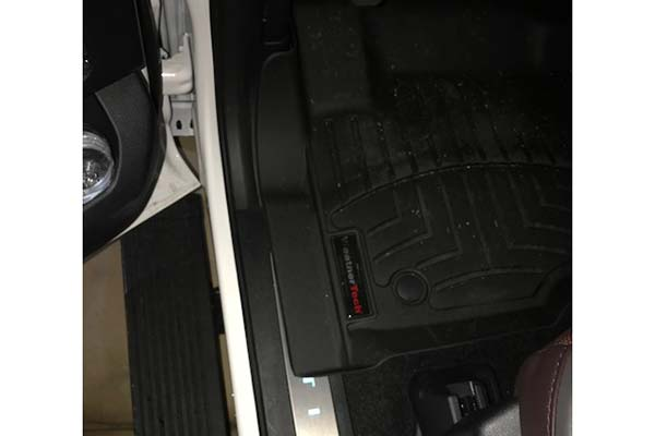 Customer Submitted Image - WeatherTech Digital Fit Floor Mats for 2017-2019 Ford Super Duty