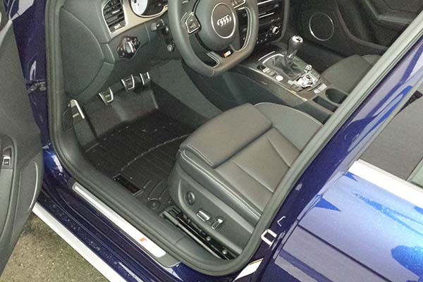 Customer Submitted Image - WeatherTech Digital Fit Floor Mats for Audi S Line