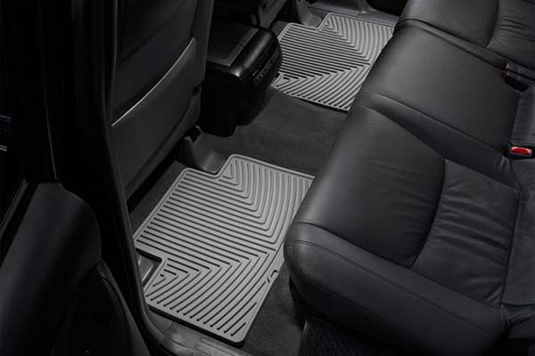 weathertech all weather second row grey mats