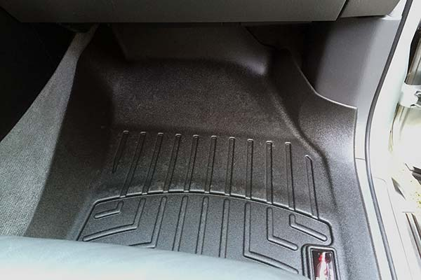 WeatherTech Floor Liner Installed in 2005 Lexus GX 470 - Customer Submitted Image
