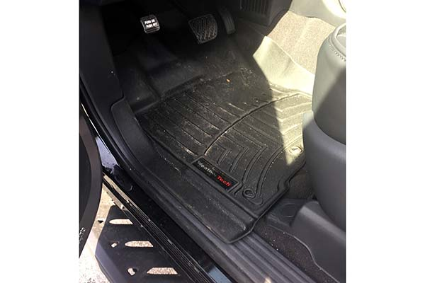 WeatherTech Floor Liner Installed in 2017 Nissan Titan XD - Customer Submitted Image