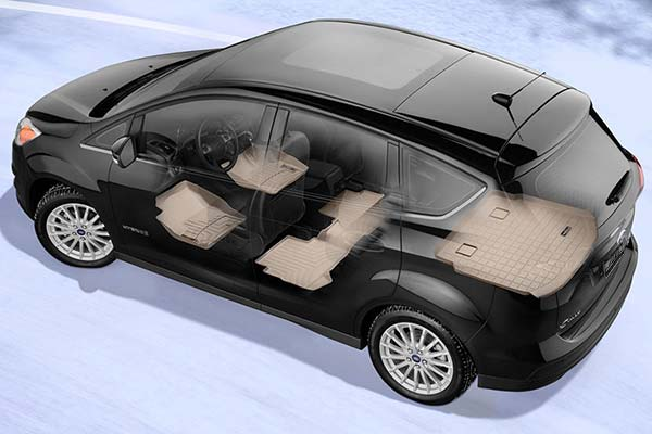 Complete coverage is available with a two-piece front row, one-piece second row and one-piece cargo area