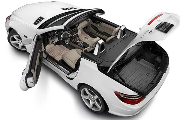 Preserve the floors of your sporty convertible by installing WeatherTech Digital Fit Floor Liners