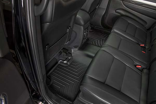 WeatherTech Digital Floor Liners come in several colors to match your upholstery including black