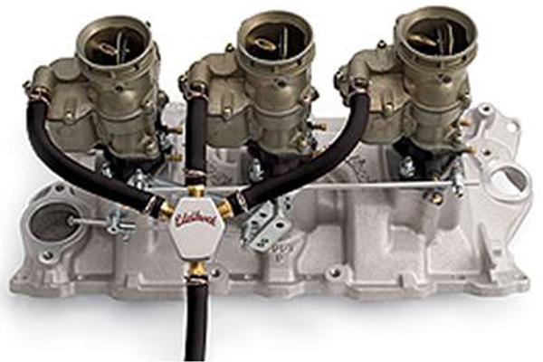 edelbrock fuel distribution blocks   carbureted engines 1