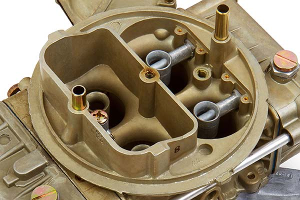 holley factory muscle car replacement carburetor detail