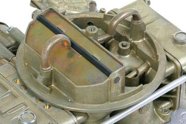 holley marine carburetor detail