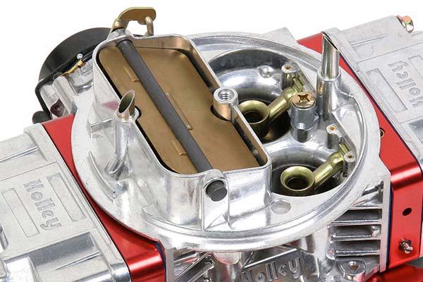 holley ultra double pumper carburetor detail1