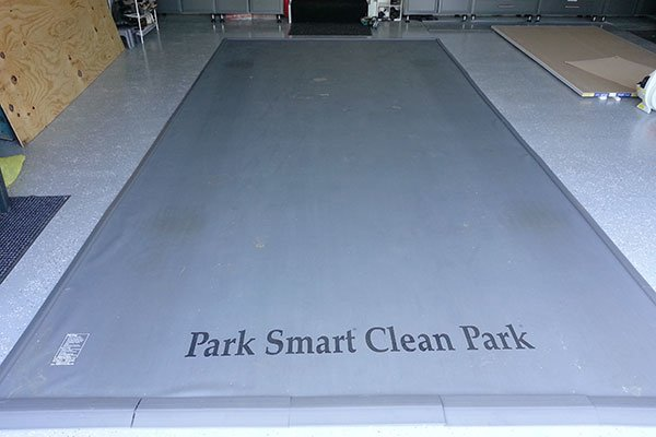 garage floor mat lowes mats for cars park smart in costco
