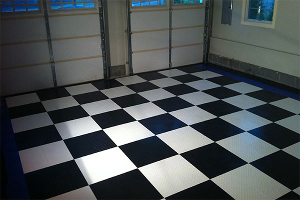 4231 racedeck flooring checkerboard