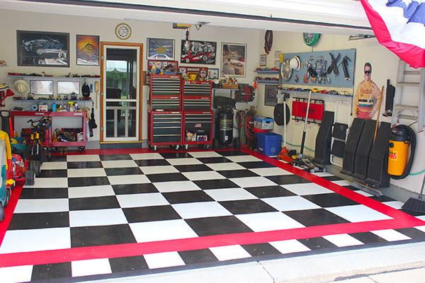 4231 racedeck garage flooring setup