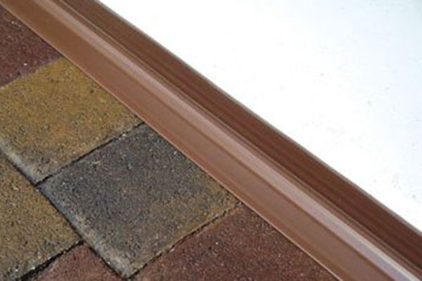 acp garage door seal brown closed