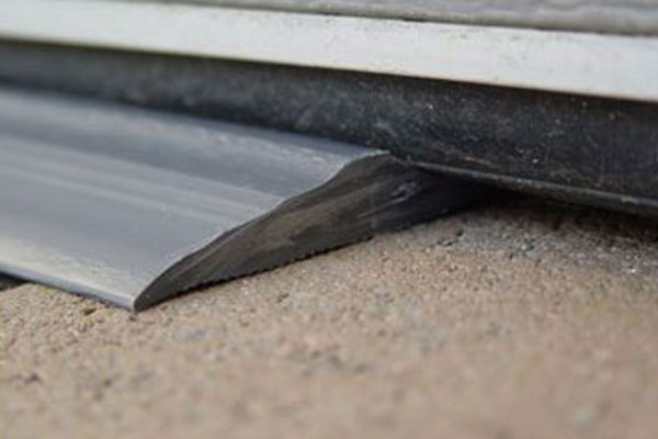 acp garage door seal closeup