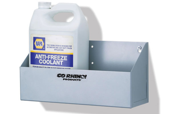 go rhino gallon storage shelf small rec