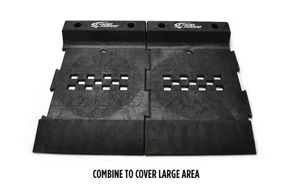 race ramps pro stop parking mat combined