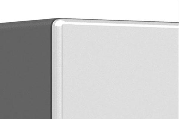 ulti mate storage cabinet radius profile detail