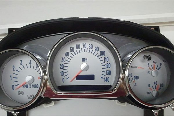 2309 us speedo gauge overlay chevy ssr