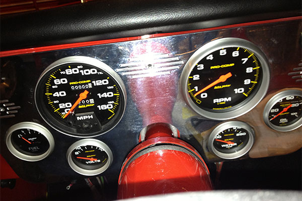 4131 autometer pro comp gauges tachometer