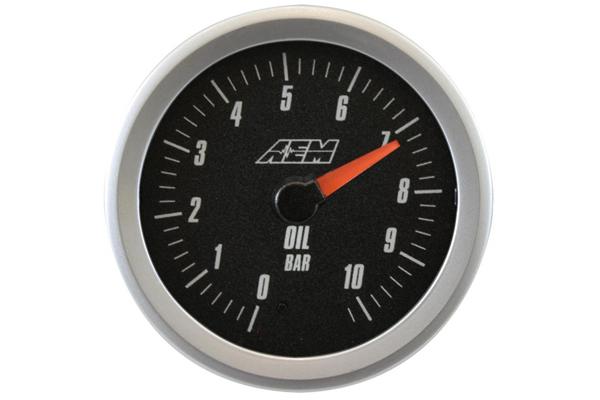 aem oil pressure metric
