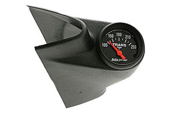 autometer mounting single with gauge